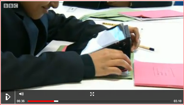 ESSA Bookless School (via BBC) - visit BBC to see video