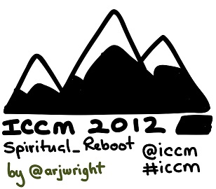 ICCM USA 2012 drawn logo by @arjwright