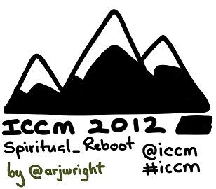 ICCM USA 2012 drawn logo by @arjwright